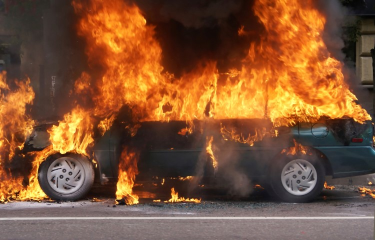 Do Electric Vehicles Pose A Greater Fire Risk Than Gas Powered Vehicles?