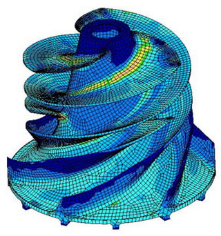 Finite element analysis is cool ced technologies inc for Lineare fem