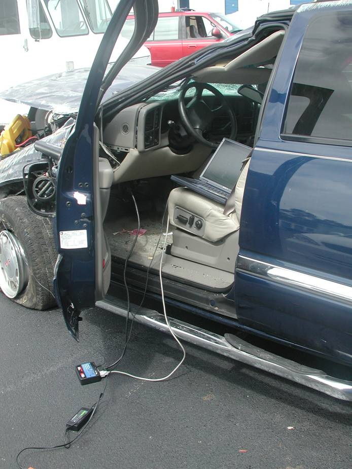 Vehicular Crash Data Retrieval In Accident Reconstruction