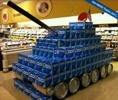 Retail Display Beer