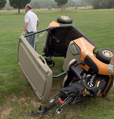 Golf Cart Accident