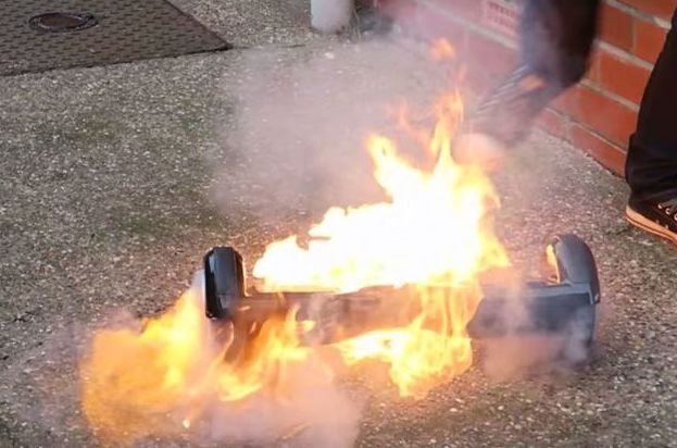 Hoverboards Fire