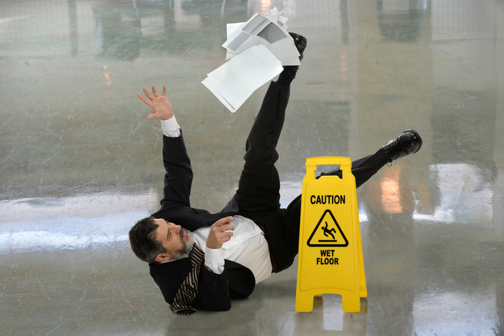 Wipe Your Feet!  The Hazards Of Slips, Trips And Falls